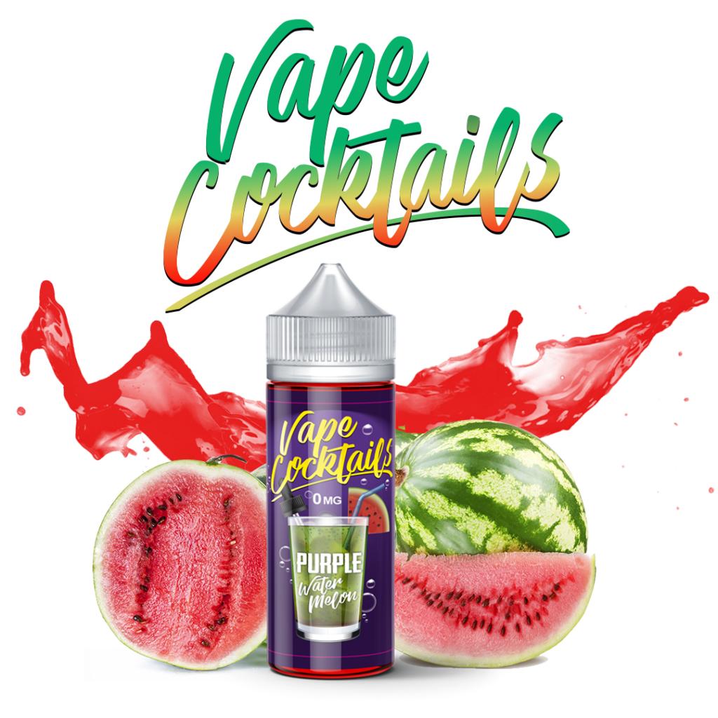 Vape Cocktails - Purple Watermelon