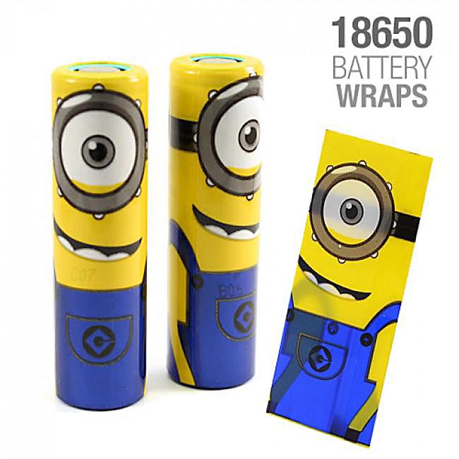 Wraps till 18650-batterier, Super Hero